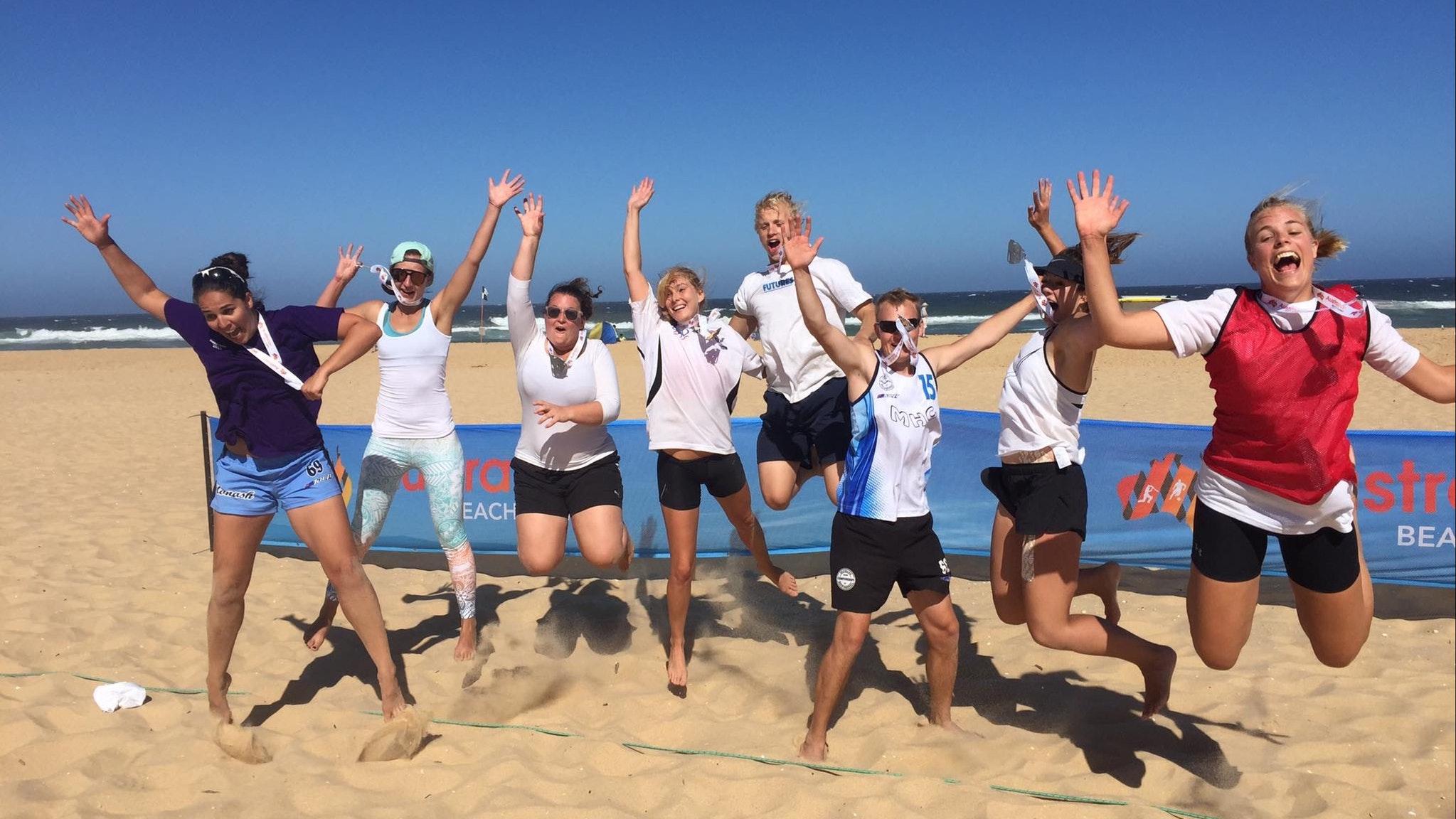 Australian Beach Games fun