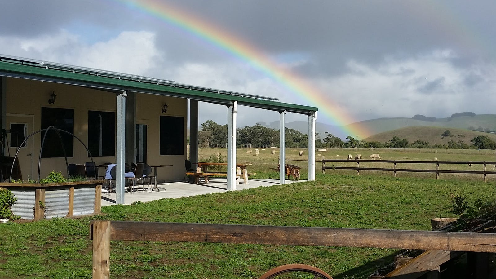 Moyarra Valley farm setting