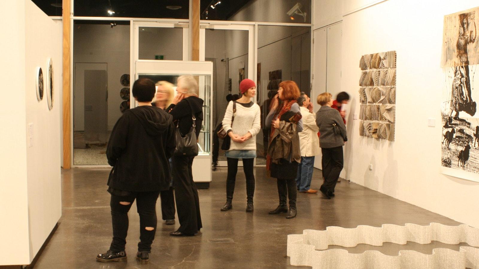 Exploring art and culture at the Latrobe Regional Gallery, Morwell, Victoria, Australia
