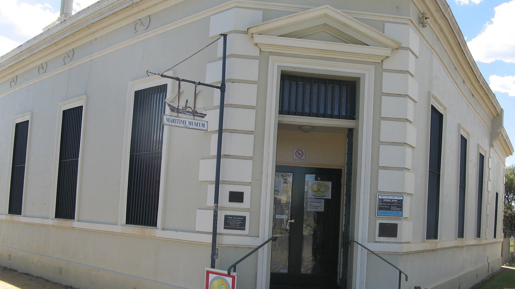 Museum Front Entrance
