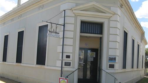 Museum Front Entrance.
