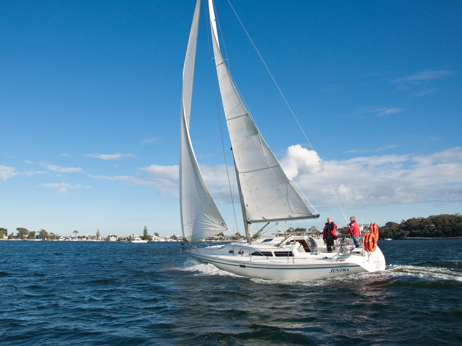 Exhilirating sailing