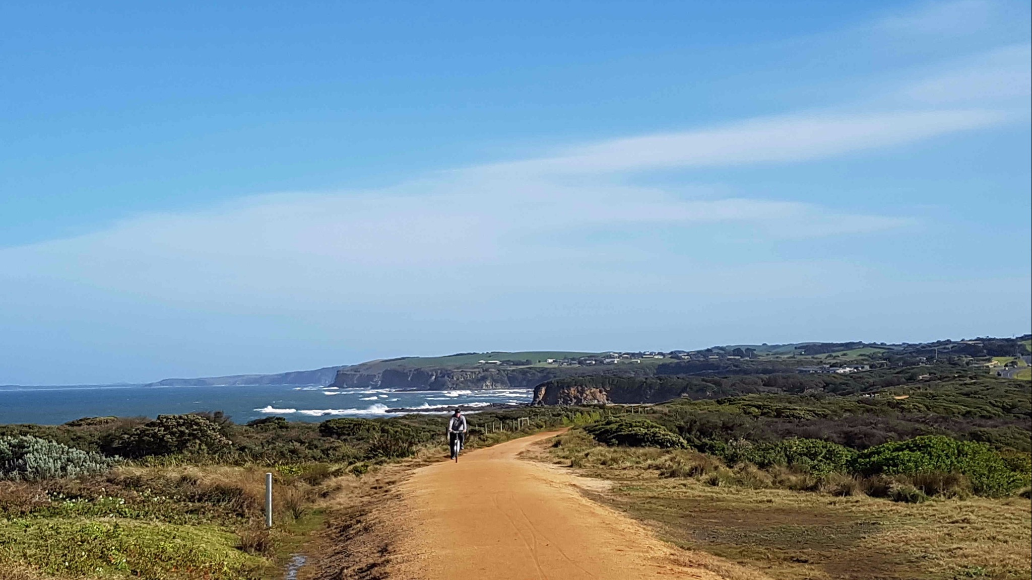 The Bass Coast Rail Trail is the only coastal rail trail in Australia