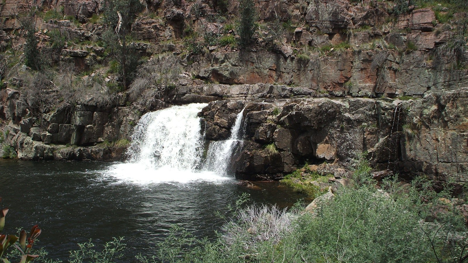 Waterfalls - Moroka Falls, Alpine National Park