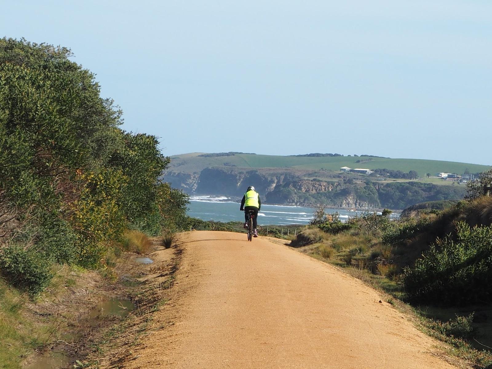 The only beachside Rail Trail in Australia