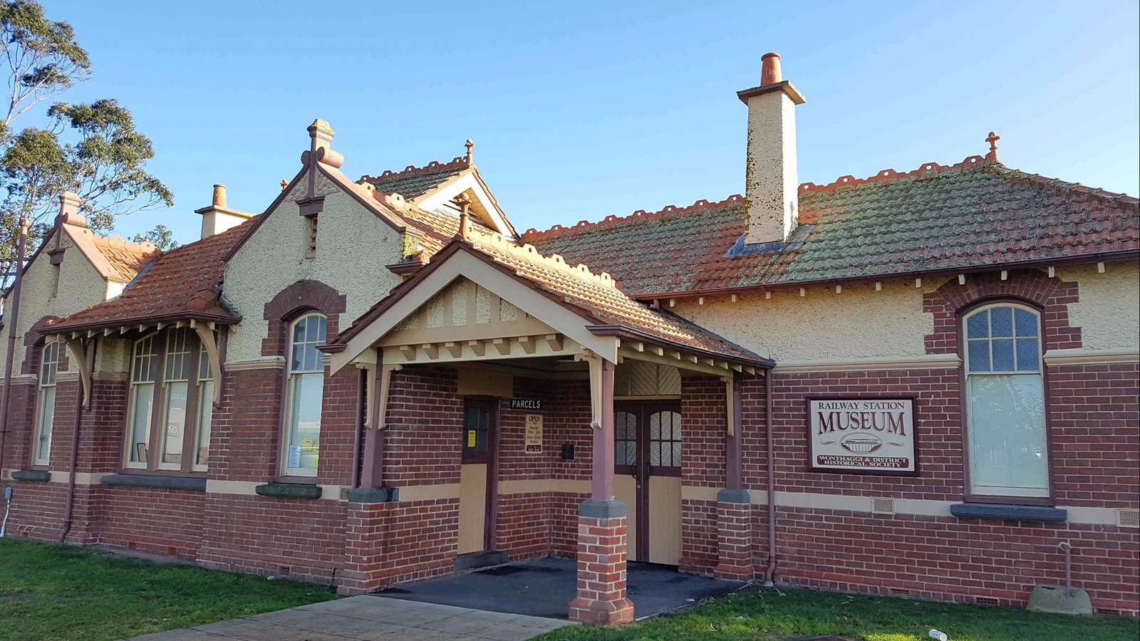 Wonthaggi Railway Station was very busy in its day and is now home to a museum