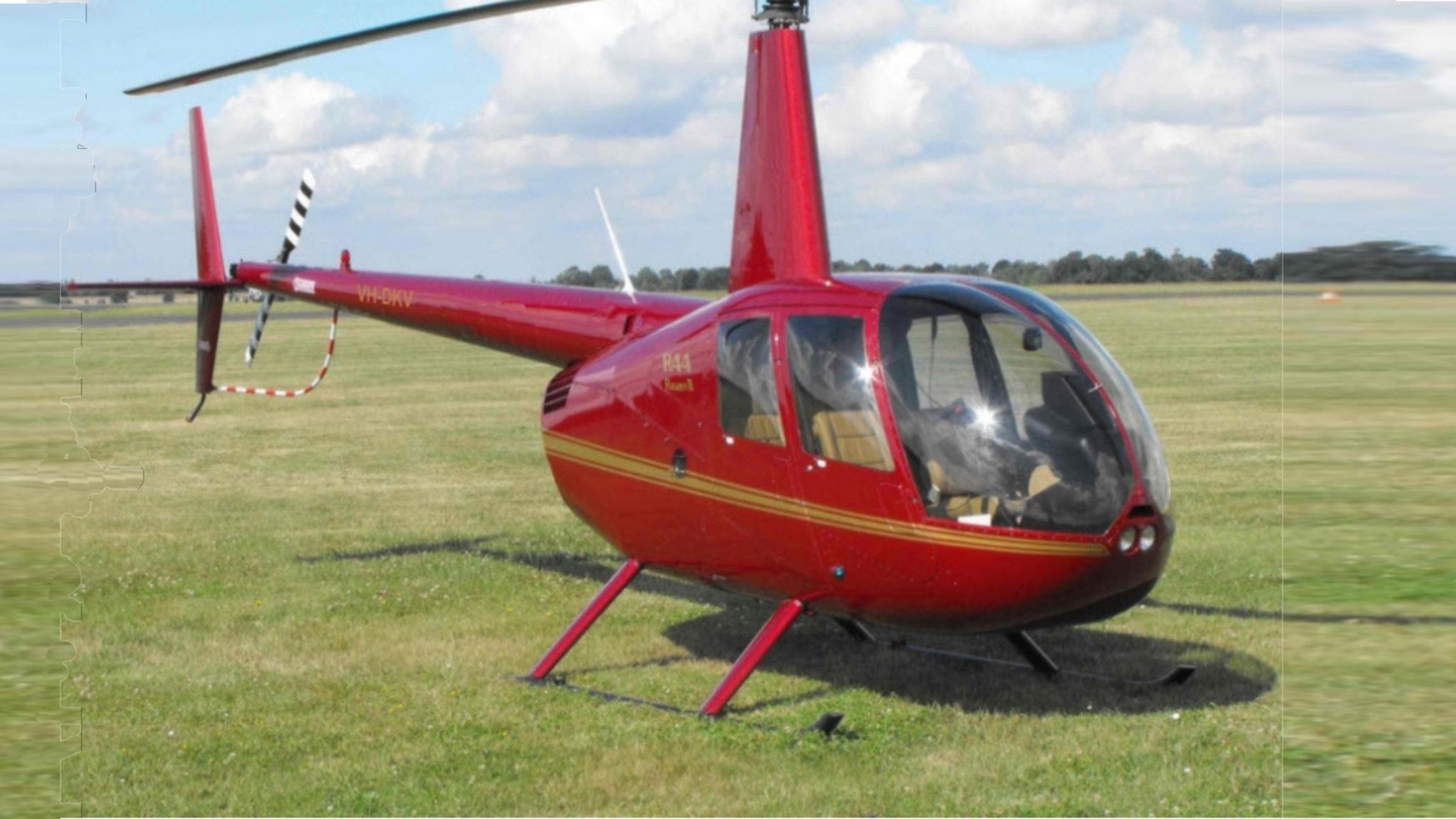 Bandicoot Robinson R44