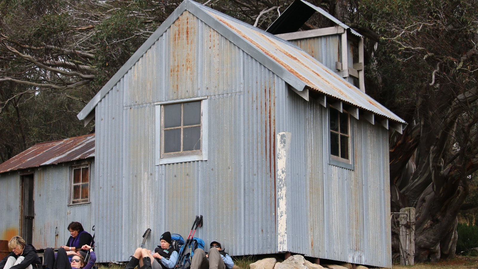 Relaxing High Country huts