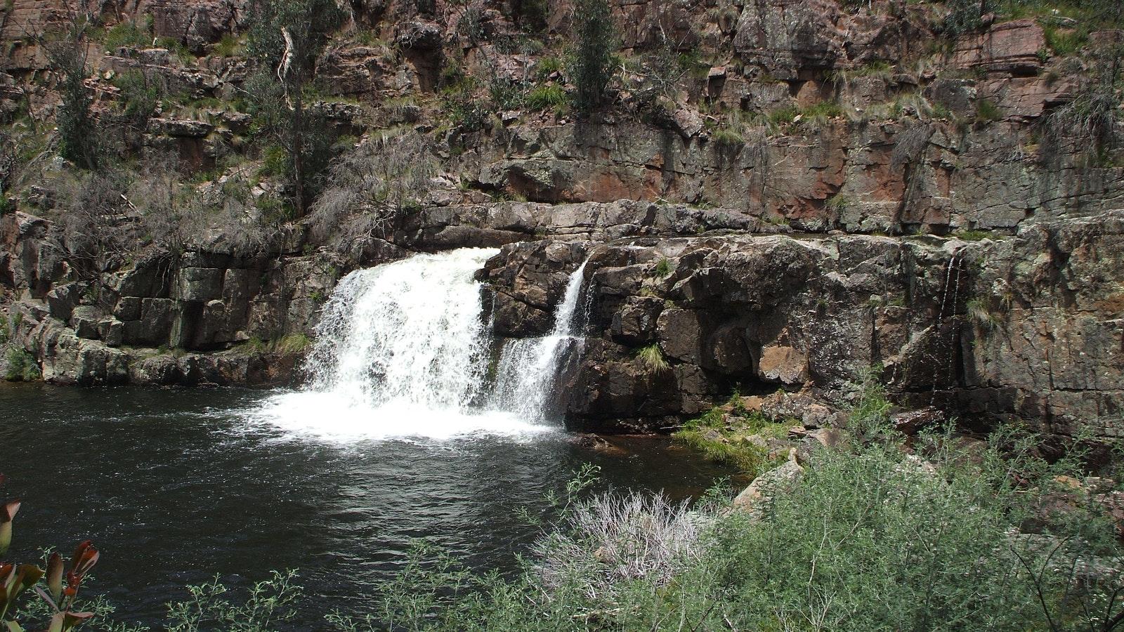 Waterfalls - Moroka Falls, Alpine National Park