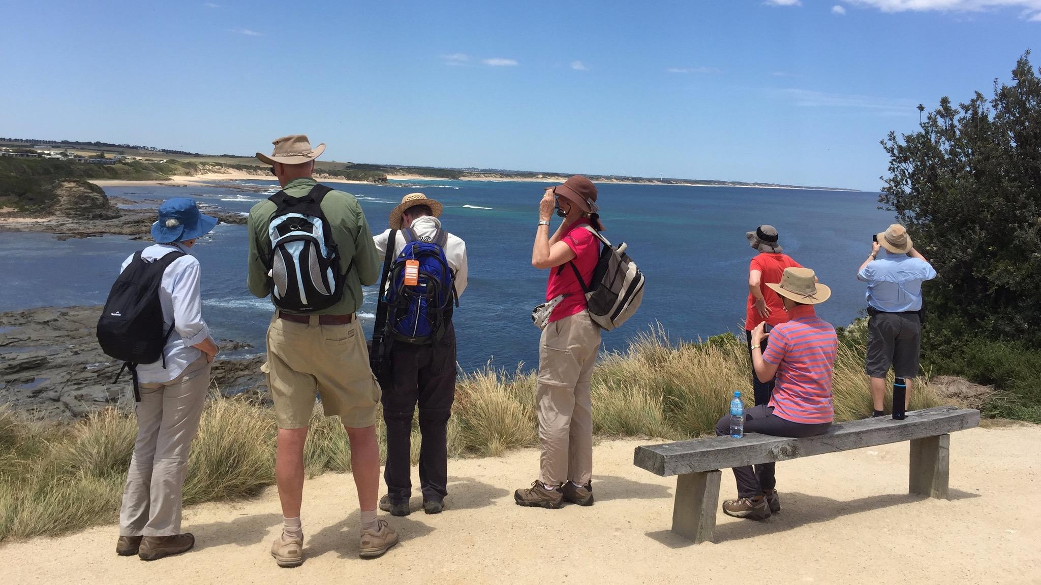Admiring the views George Bass Coastal Walk