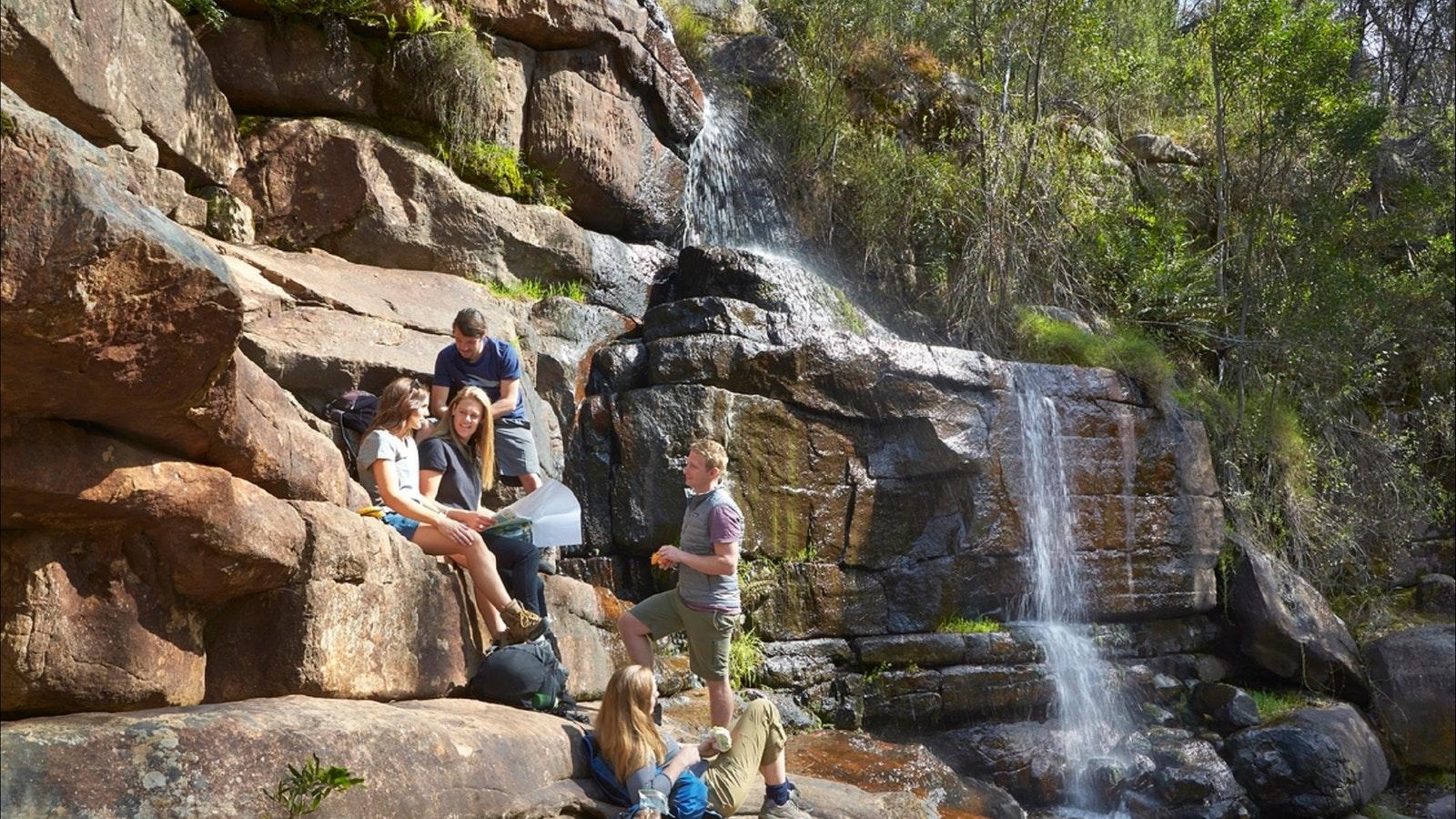 Grampians Waterfall