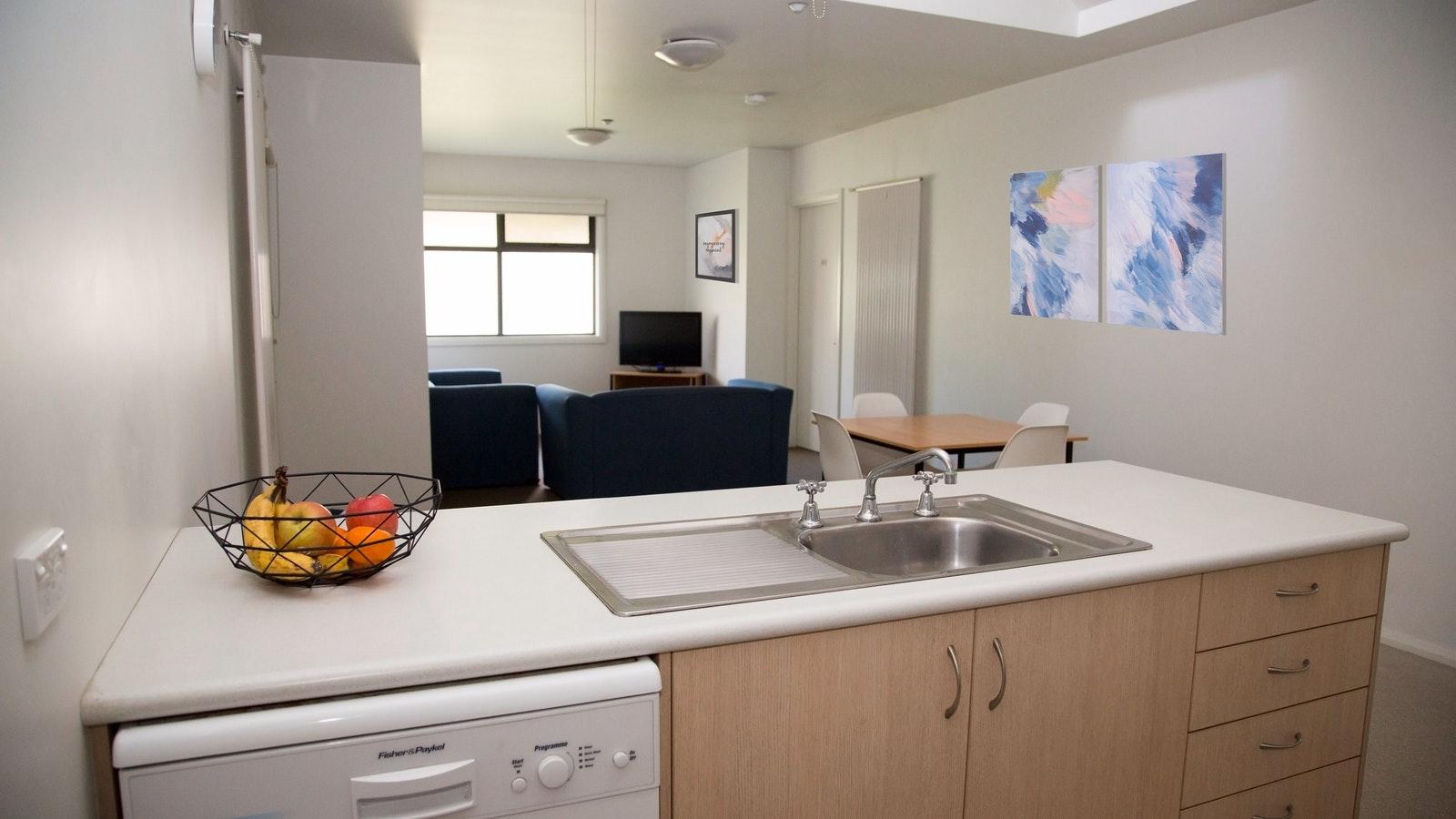 Elsworth Street Apartments Kitchen/Living