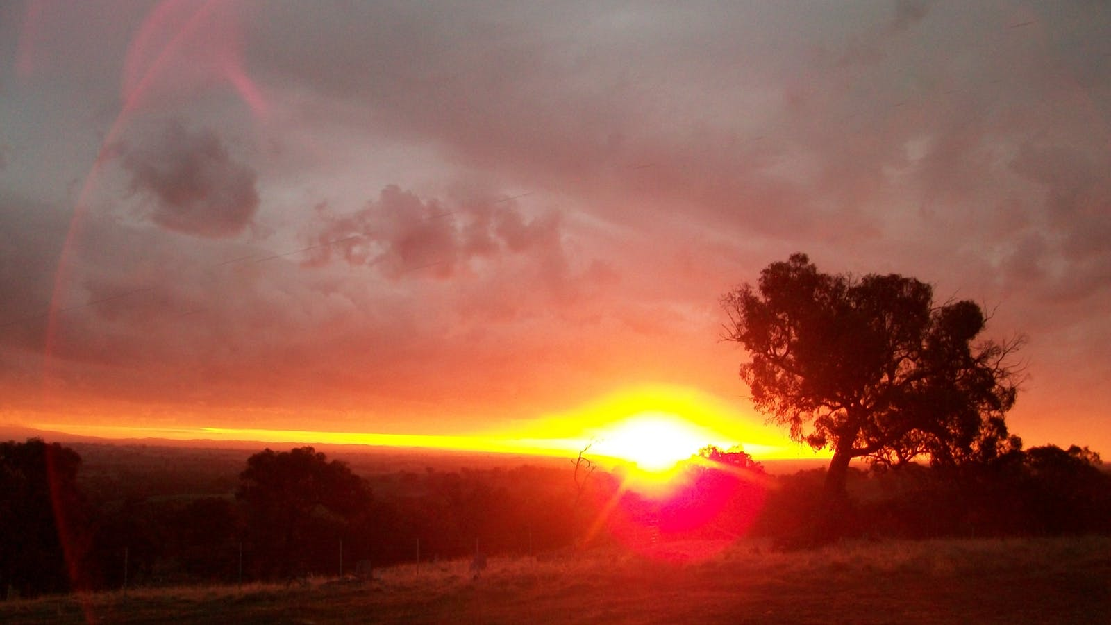 Sunset at Heathcote Views