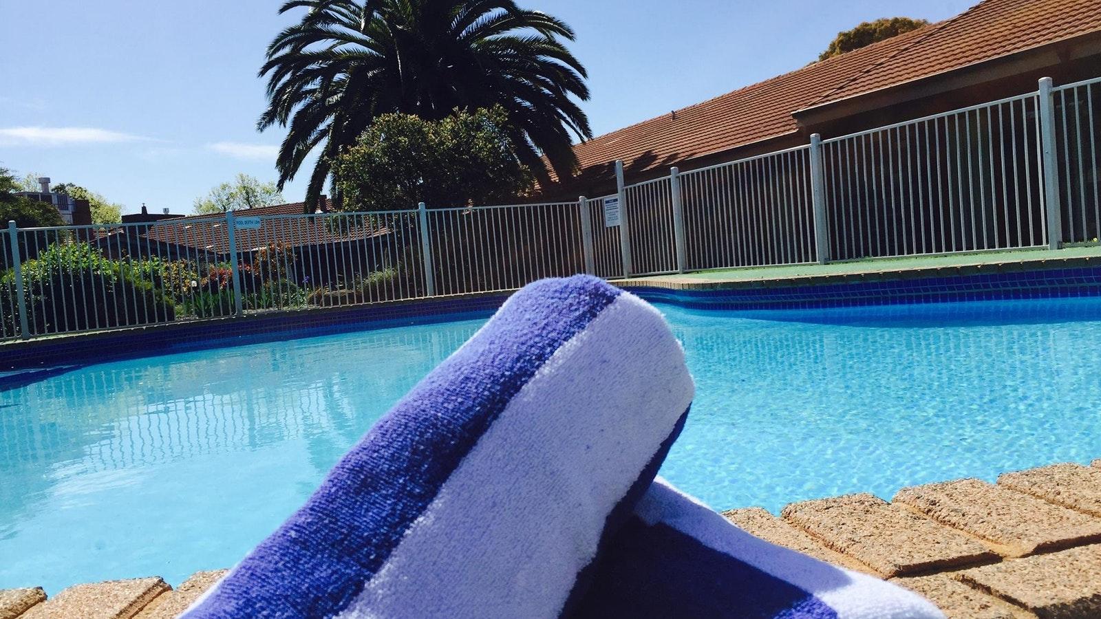 JA Pool with Towels