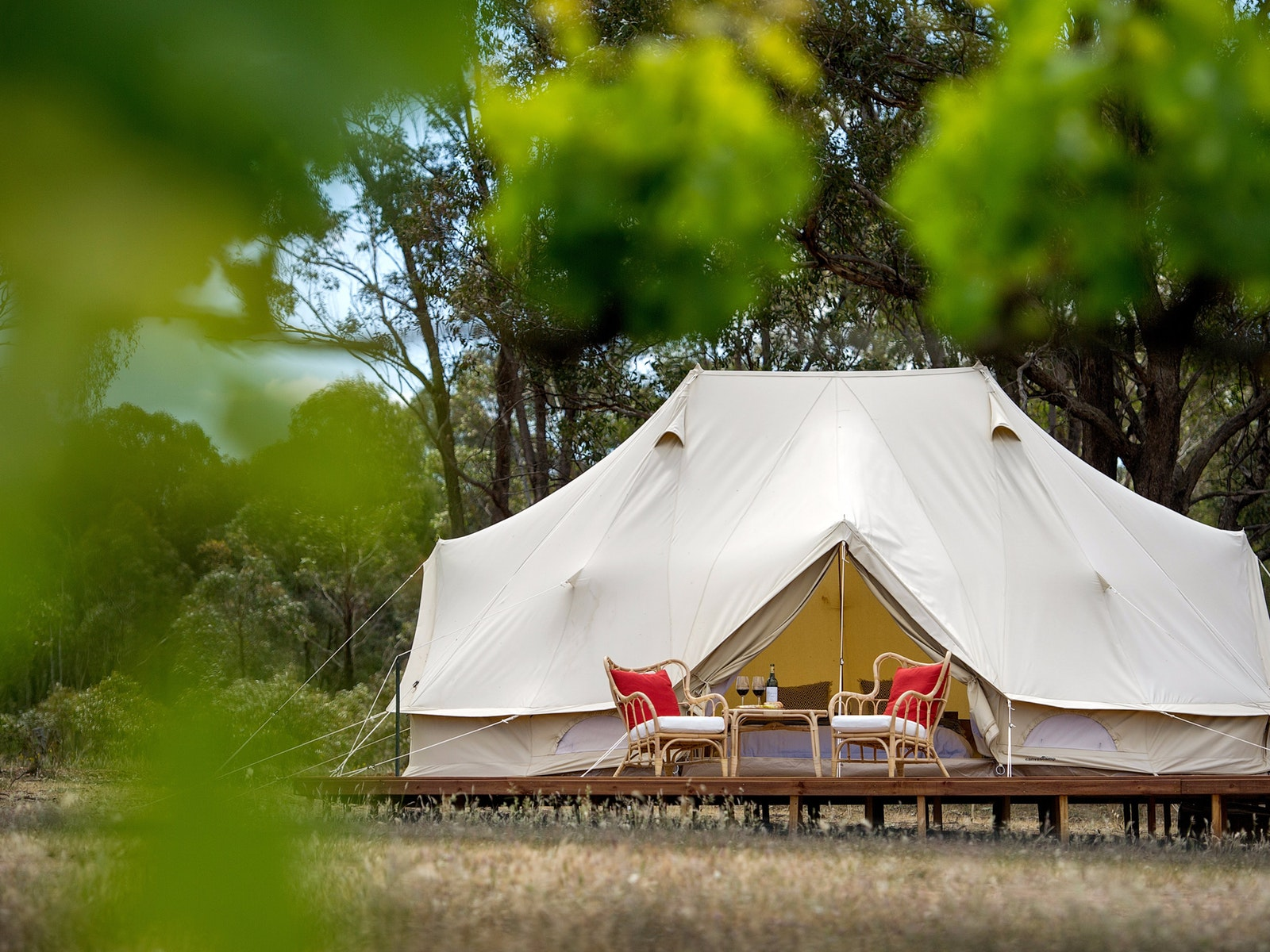 Glamping Accommodation - Bendigo Victoria