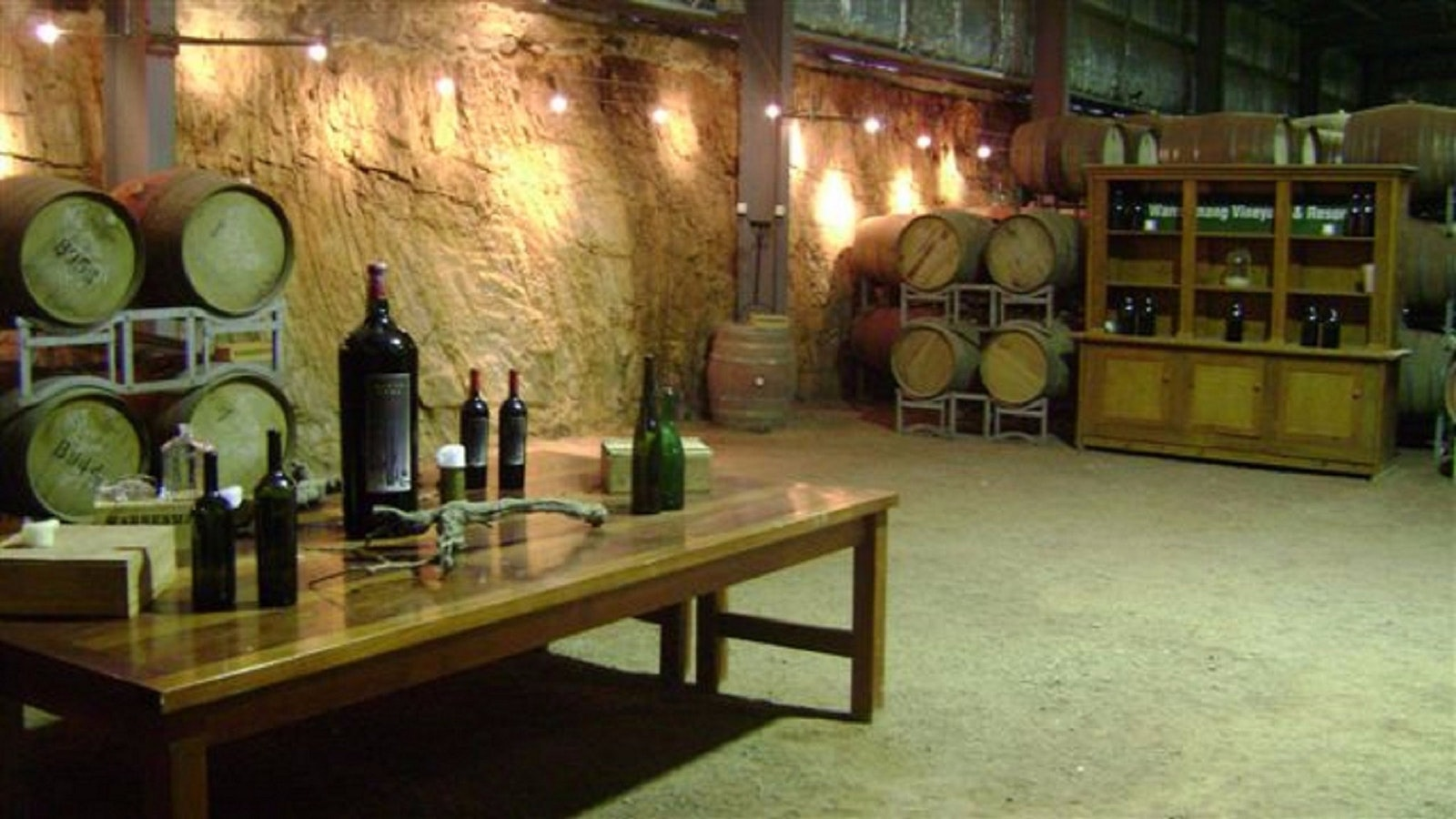 Barrel Hall for tastings & functions