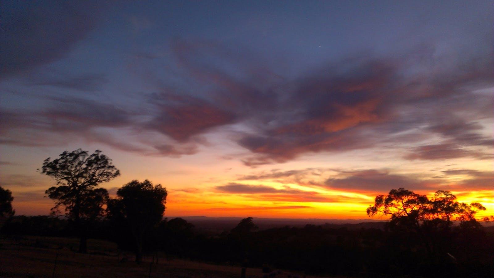 A January Sunrise