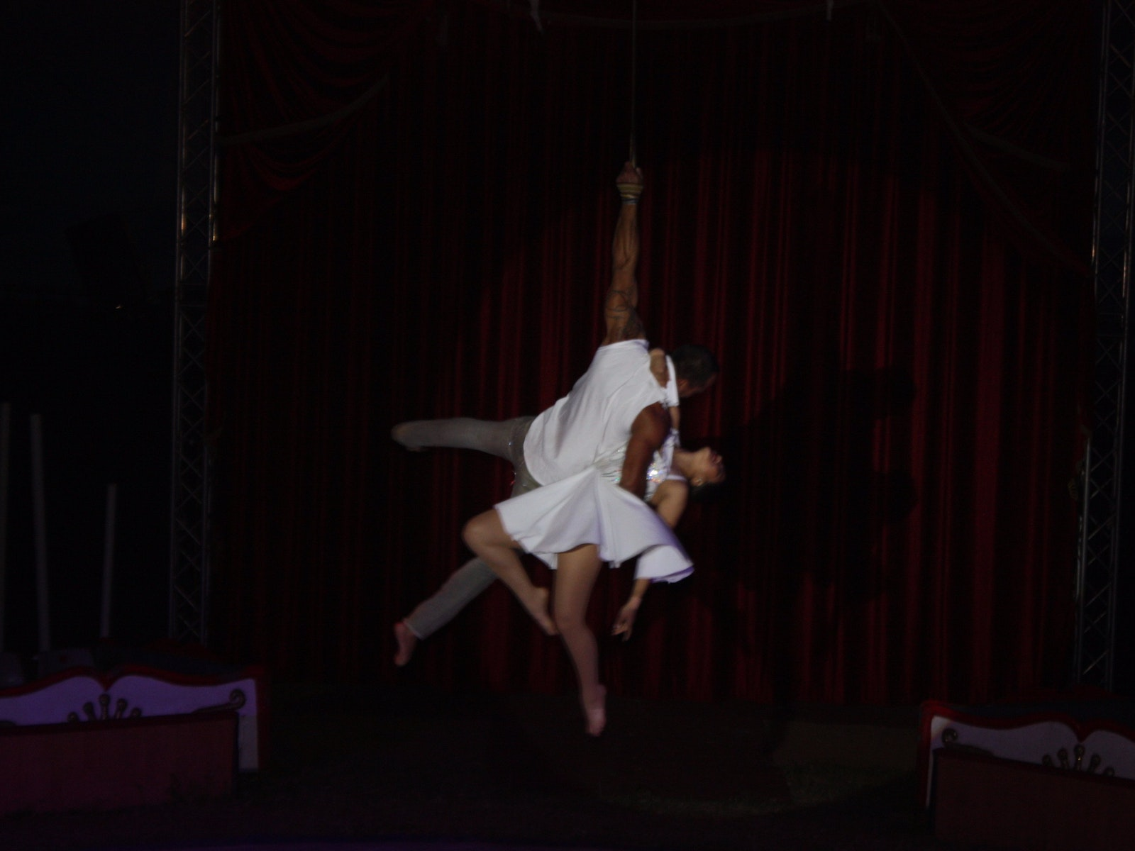 one of the aerial acts