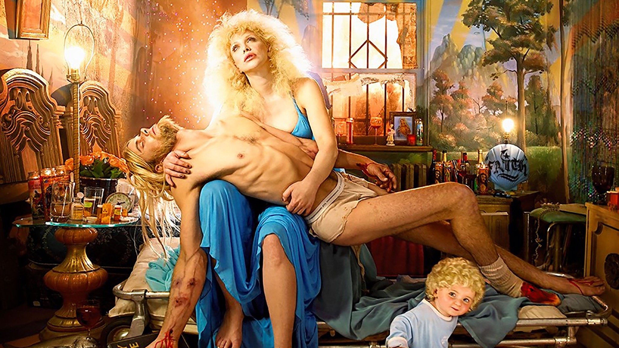 David LaChapelle, Courtney Love: Pieta, 2006