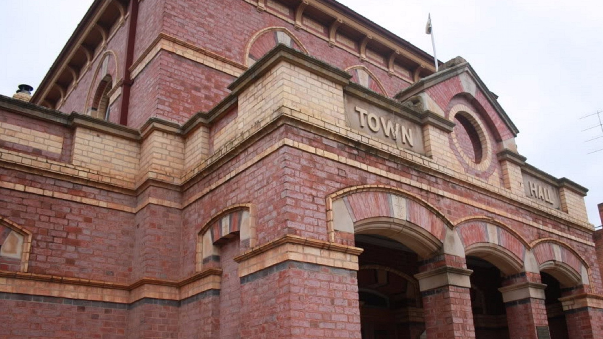Town Hall, Dunolly, venue for The Court Sessions afternoon with writers