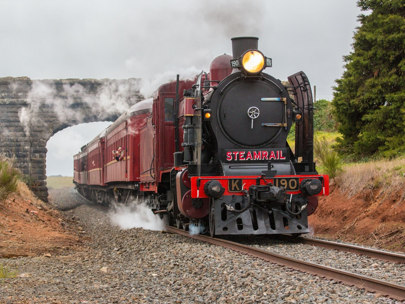 Ballarat Heritage Weekend - Steam Train
