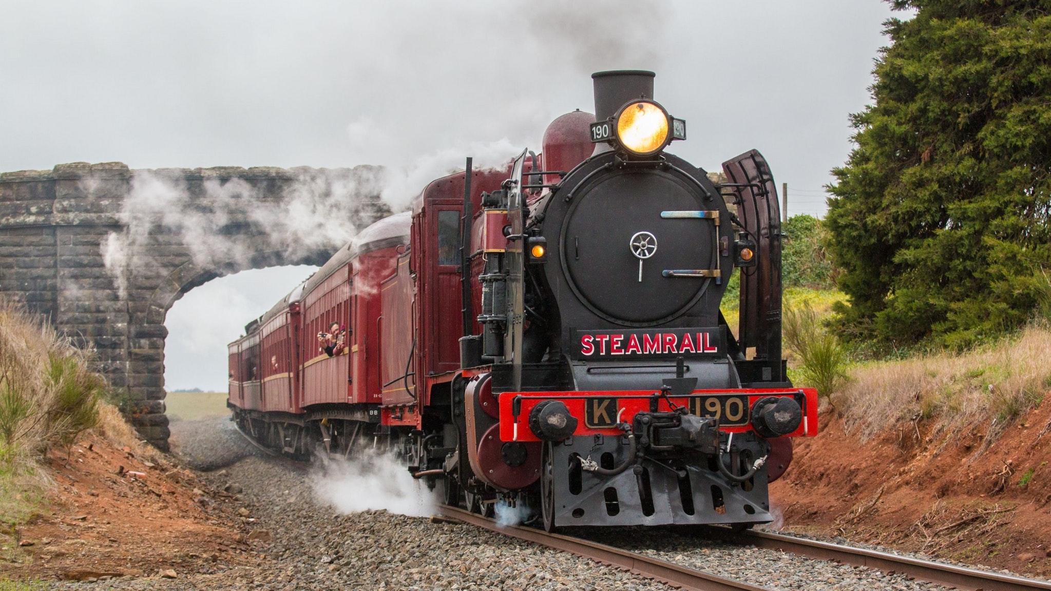 Ballarat Heritage Weekend - Steam Train