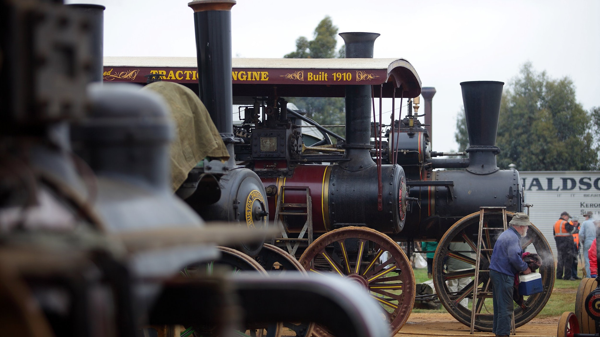 Lake Goldsmith Steam Rally