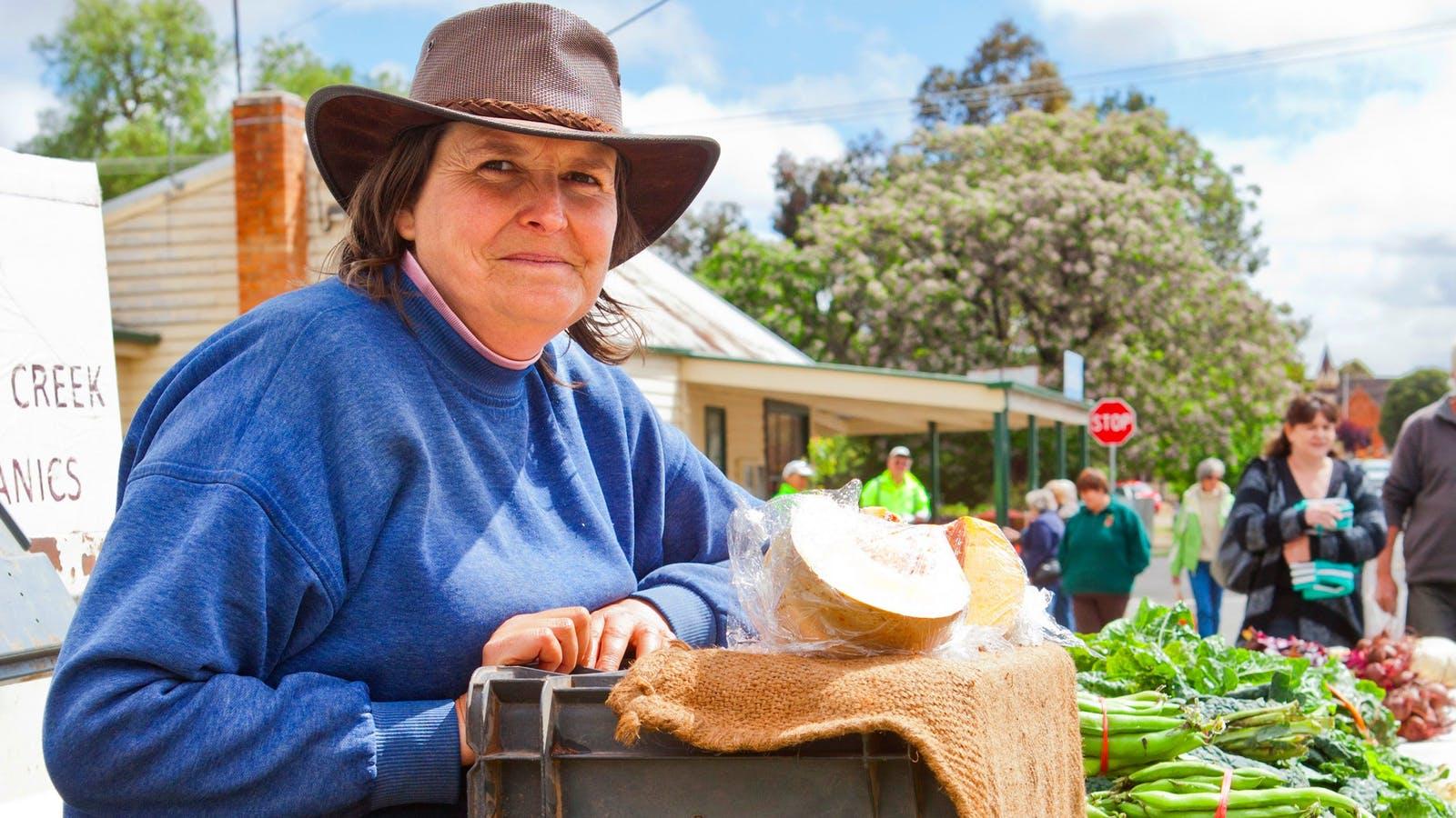 Lisa of Spring Creek Organics