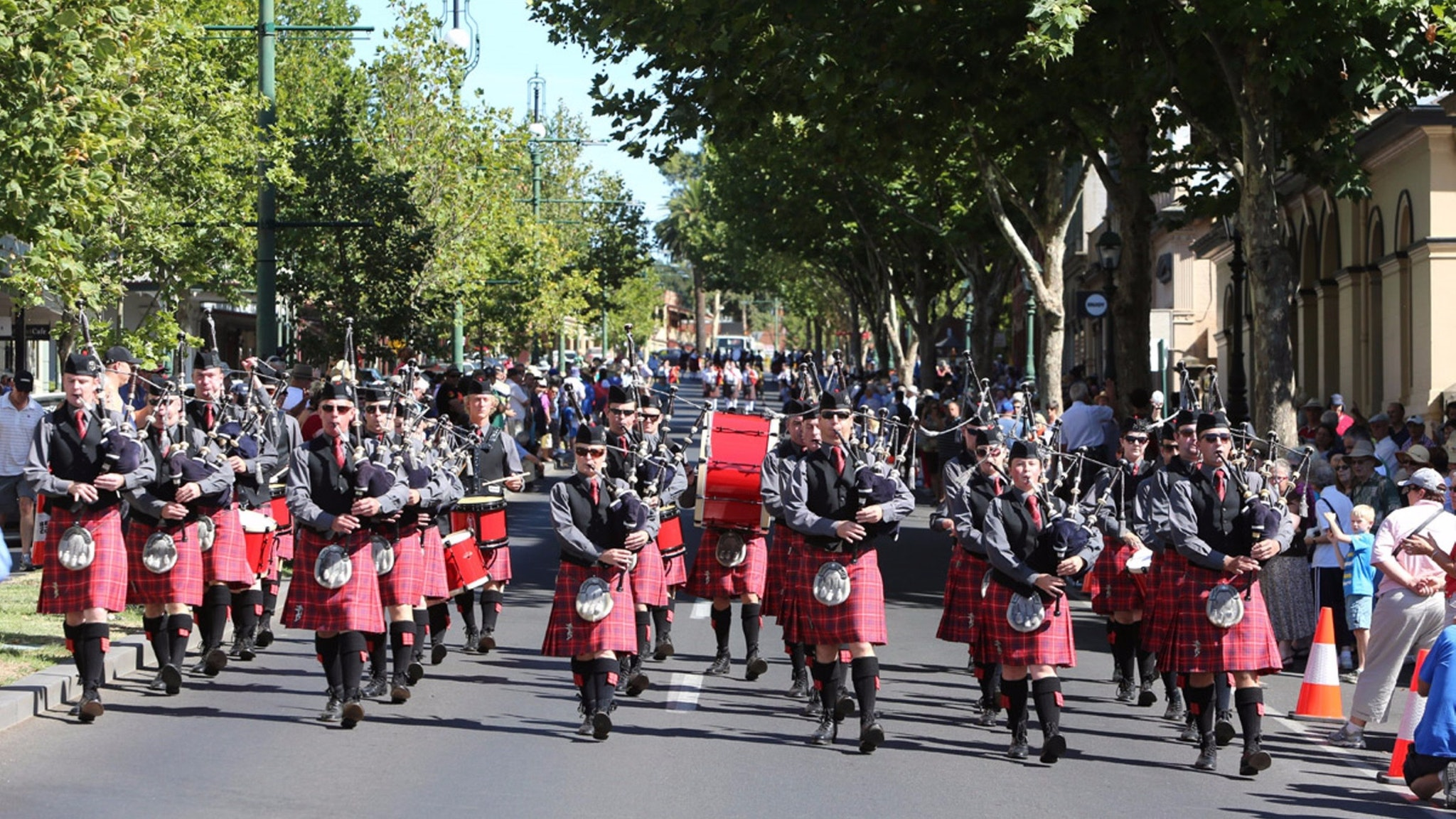 Scots Day Out Parade