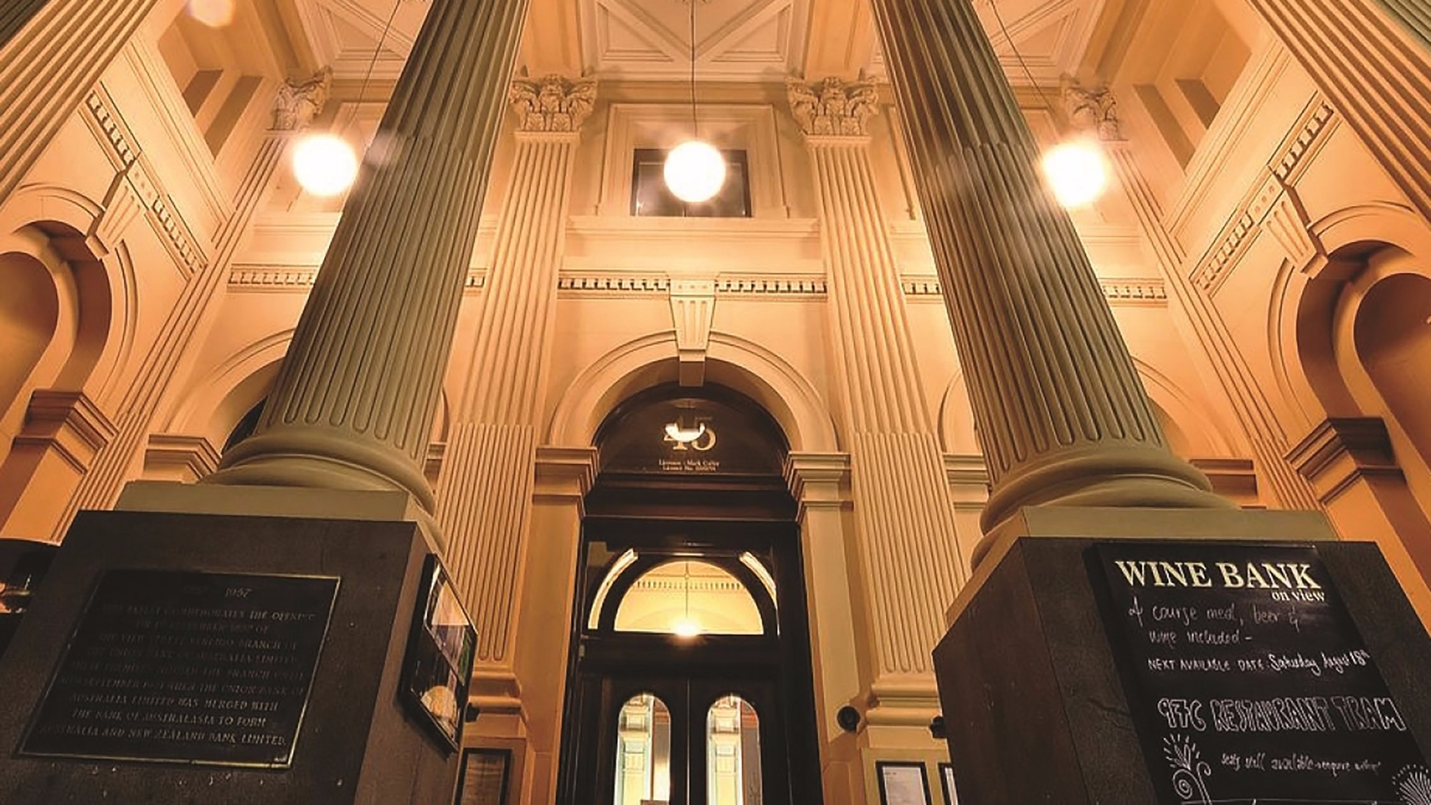Wine Bank entrance