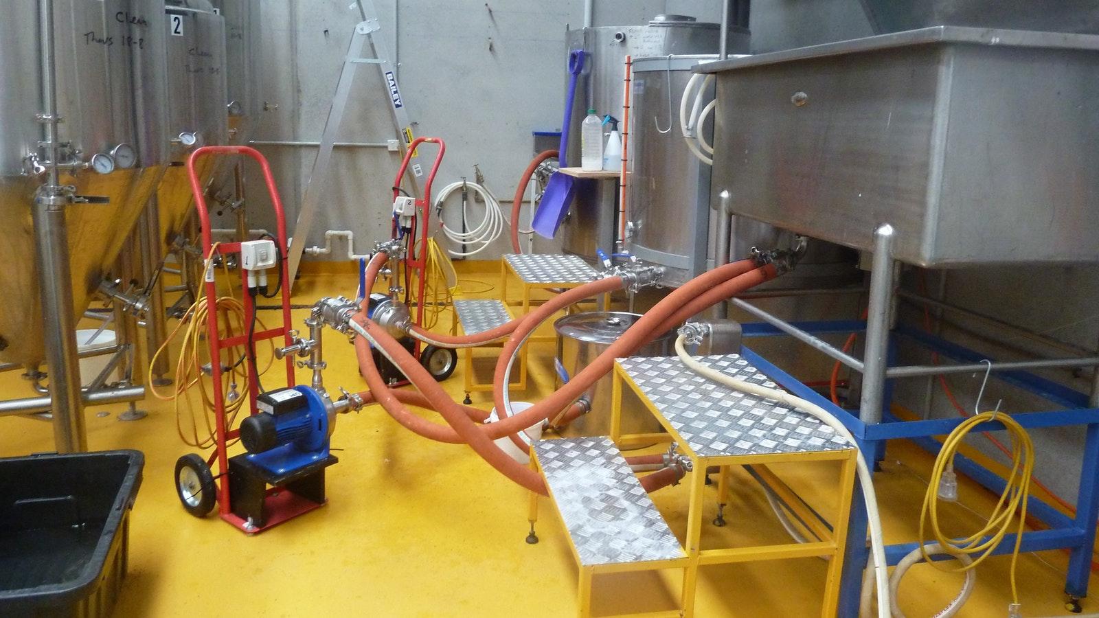 Brew house equipment