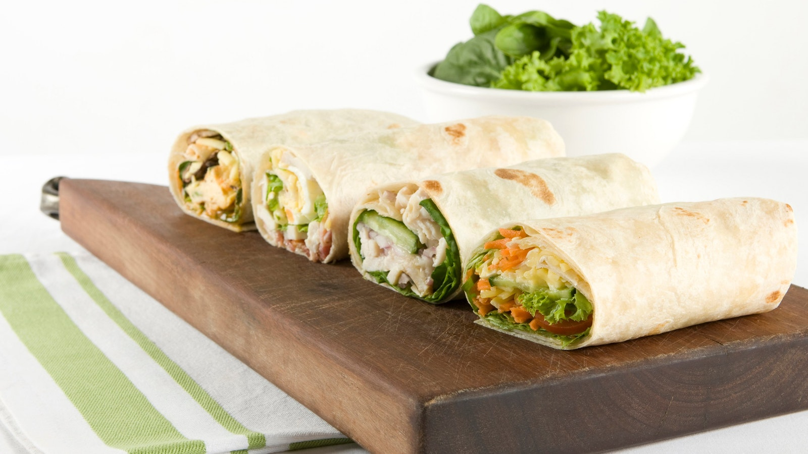 Freshly made wraps, rolls, sanwiches & Focaccias