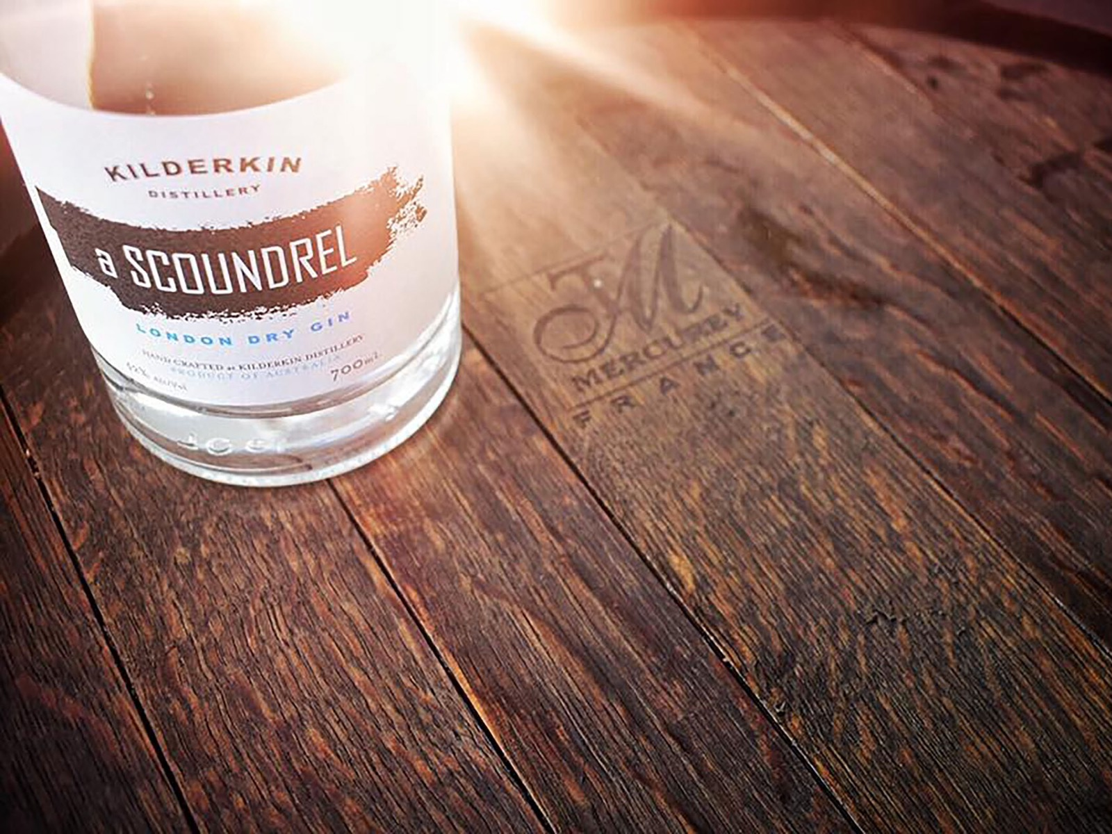 Visit the cellar door for a gin flight at Kilderkin Distillery