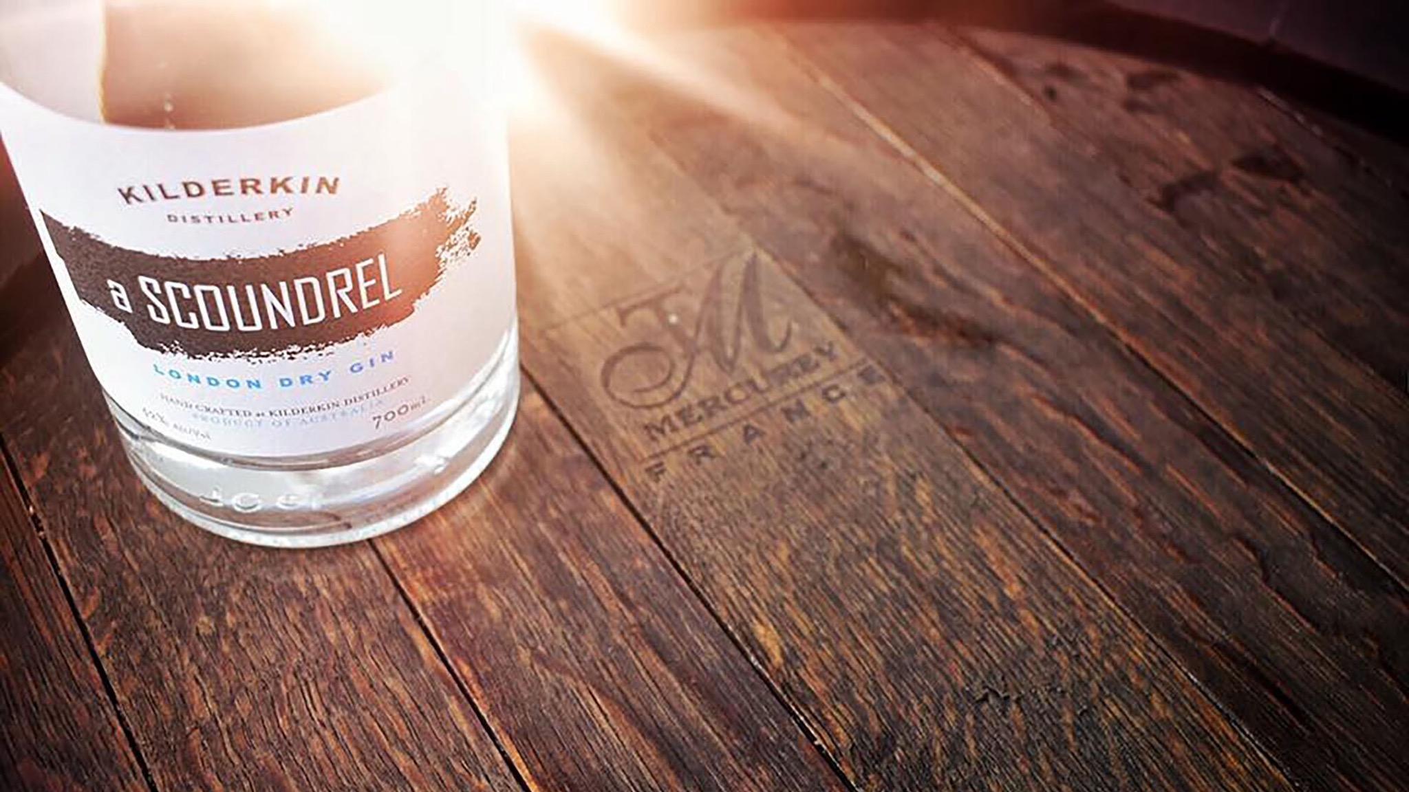 Visit the cellar door for a gin flight at Kilderkin Distillery