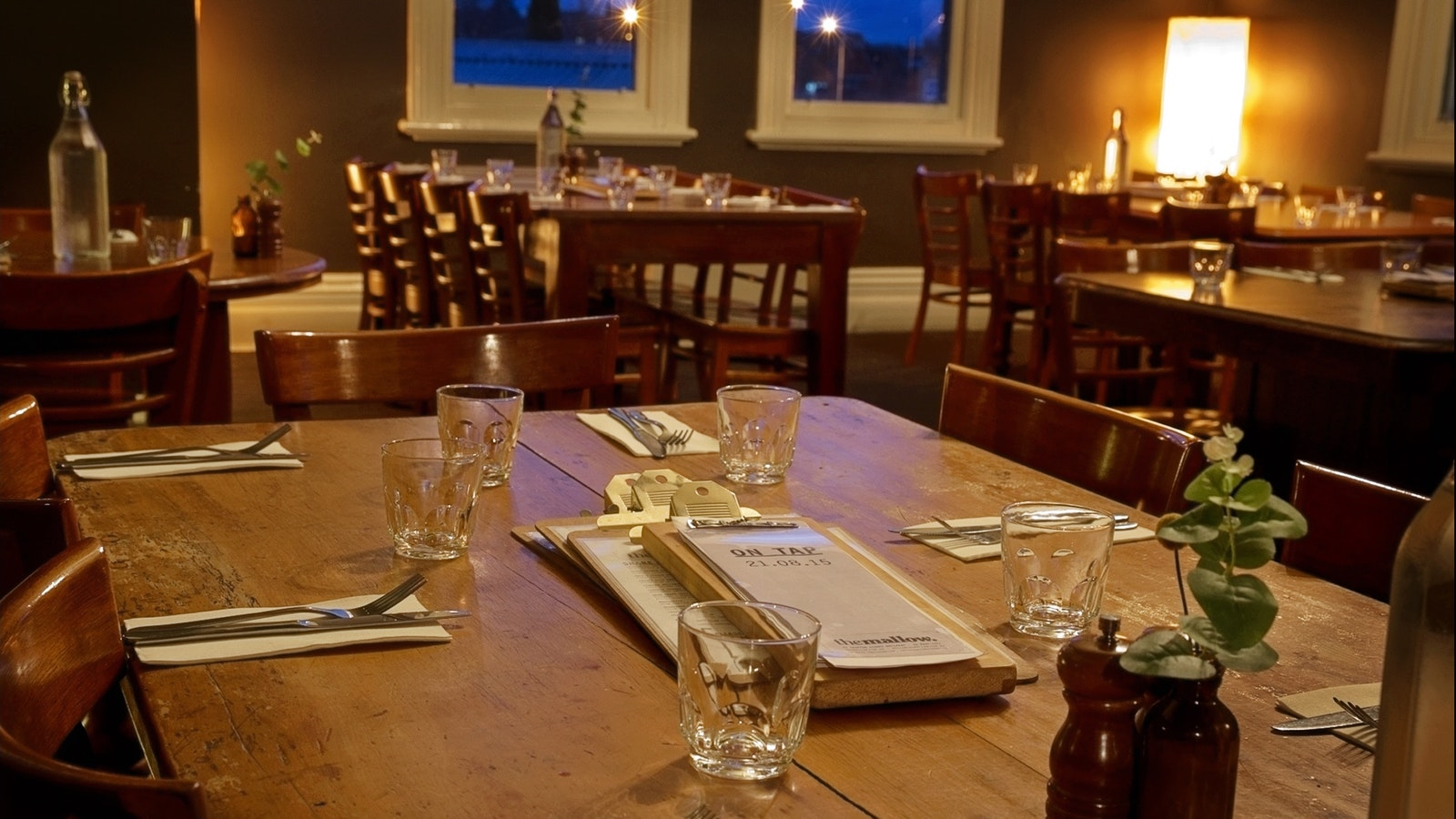 Upstairs private function room