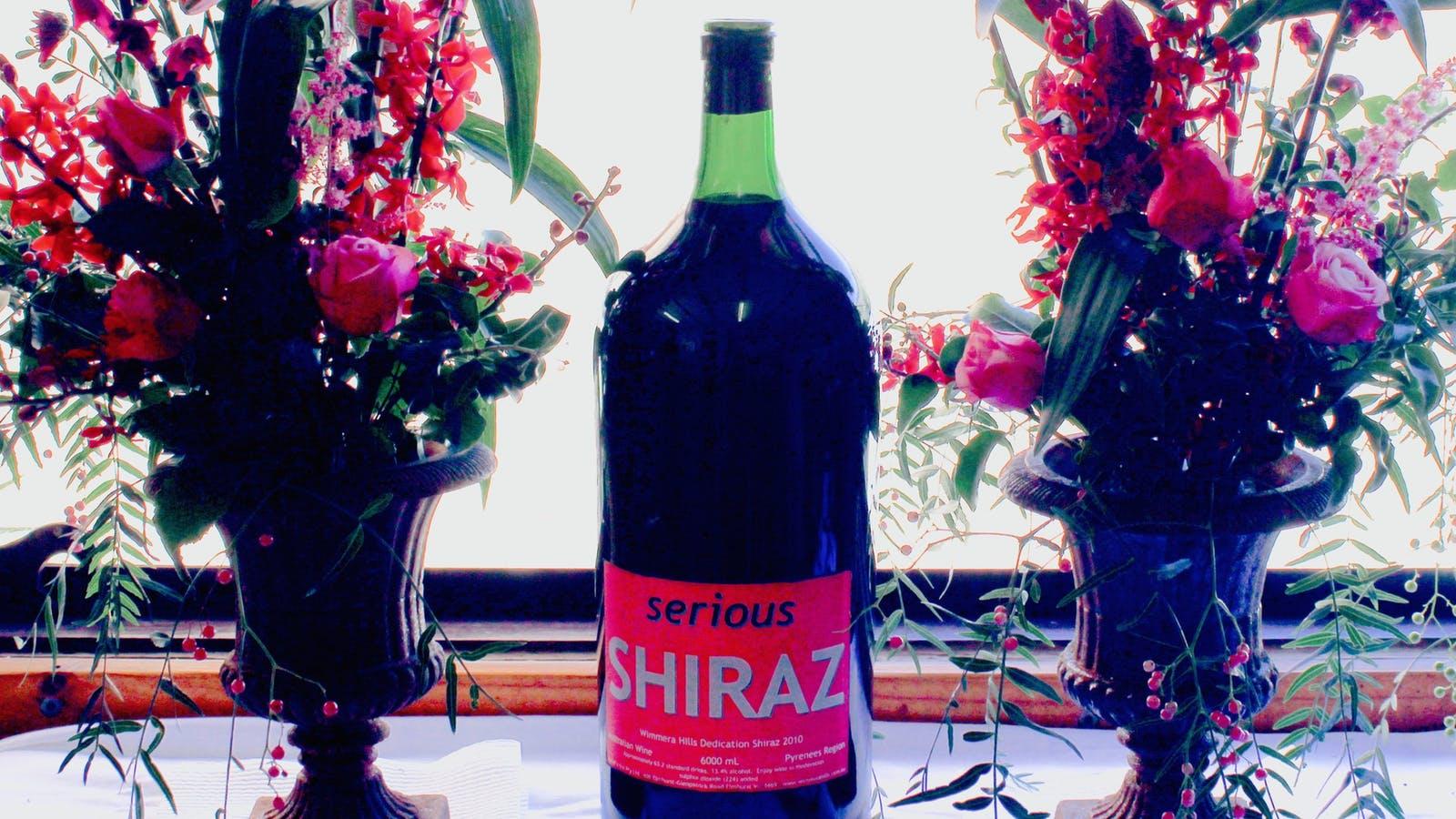Jeroboam of shiraz - Wimmera Hills Winery