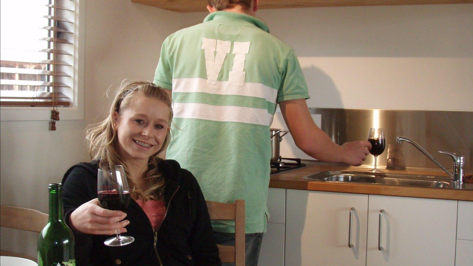 Cottage kitchen - Wimmera Hills Winery