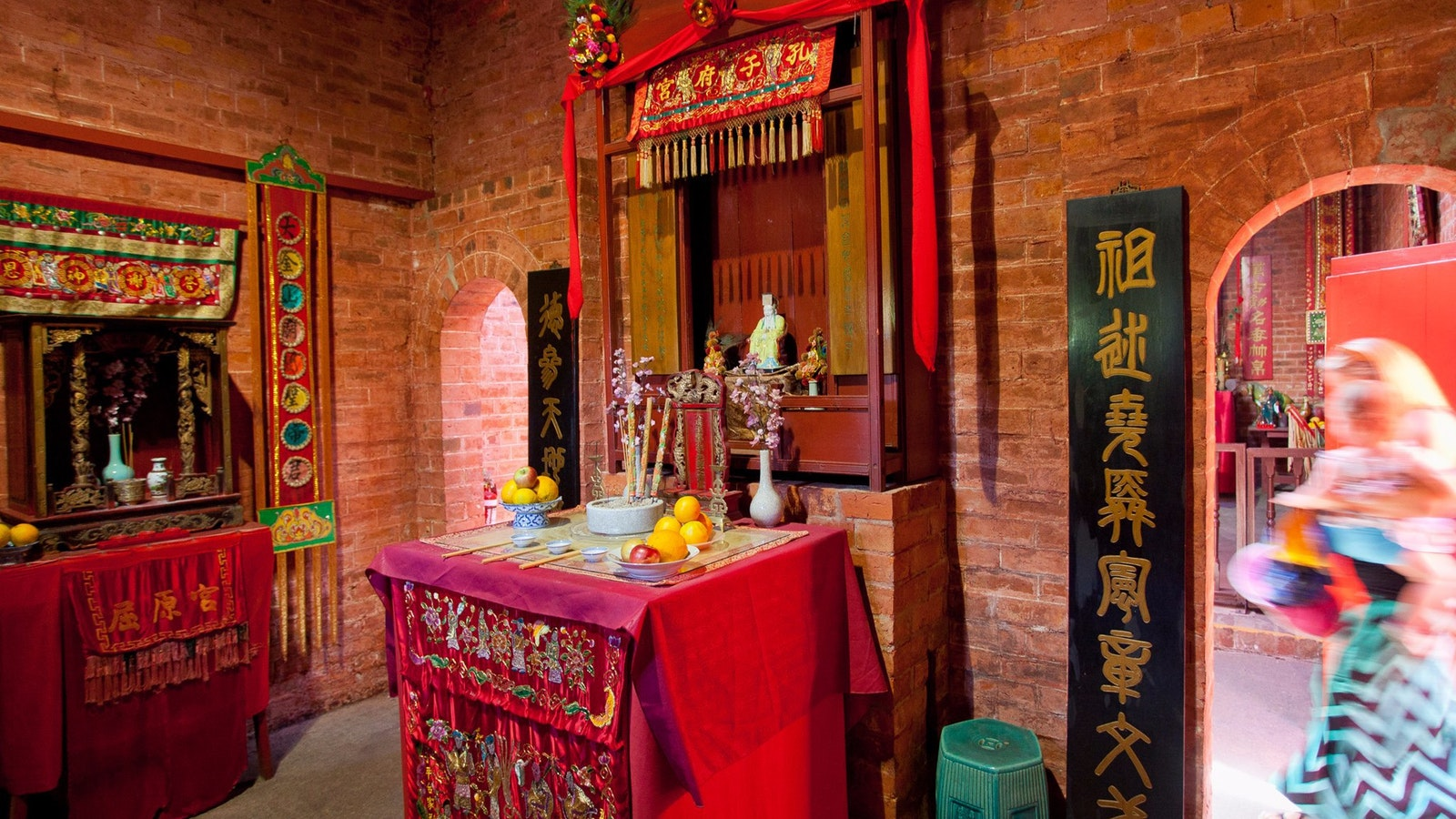 Bendigo Joss House Temple - Entrance Chamber