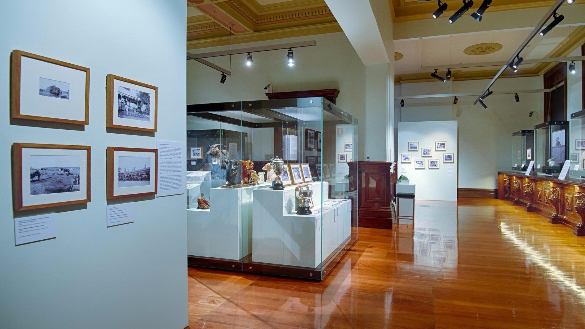 Bendigo Art Gallery Post Office Gallery in the Bendigo Historic Post Office Pall Mall