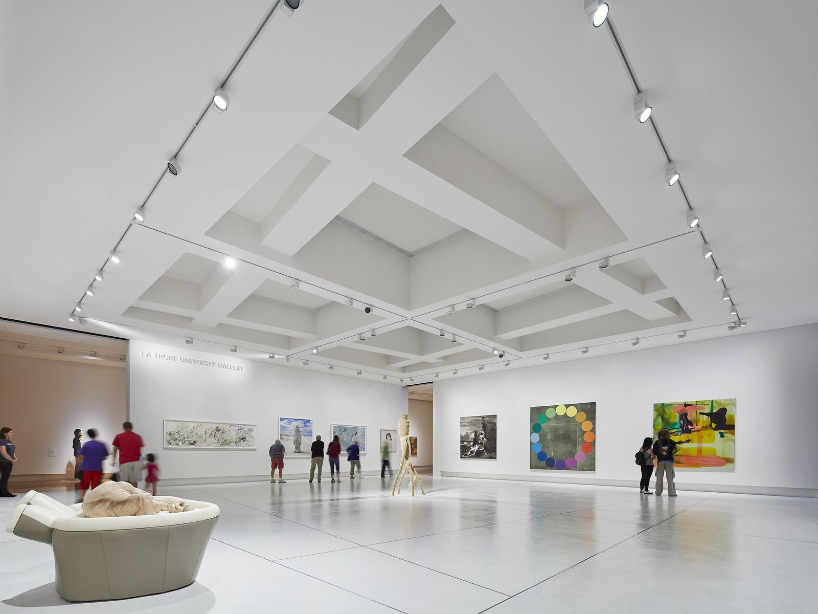 Contemporary art spaces - Bendigo Art Gallery