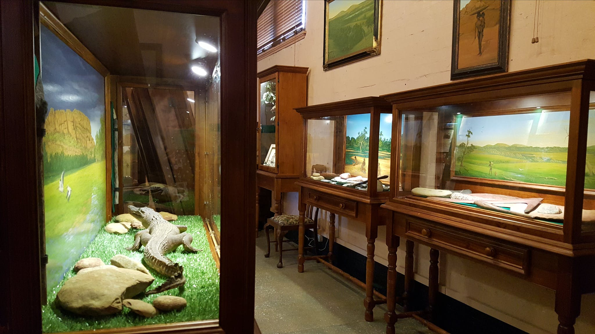 Interior of the Museum