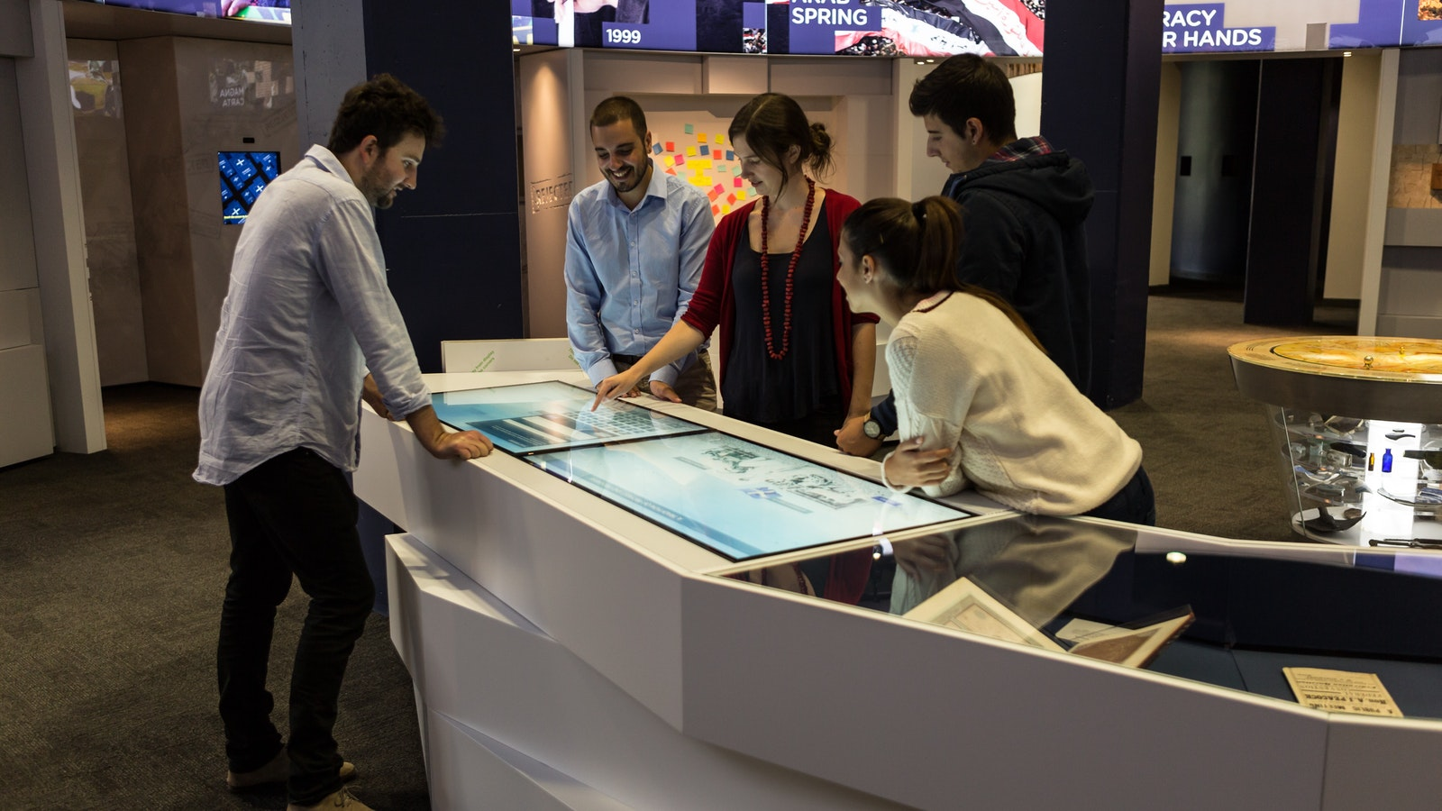 State-of-the-art touchscreens tell the story of the Eureka Stockade