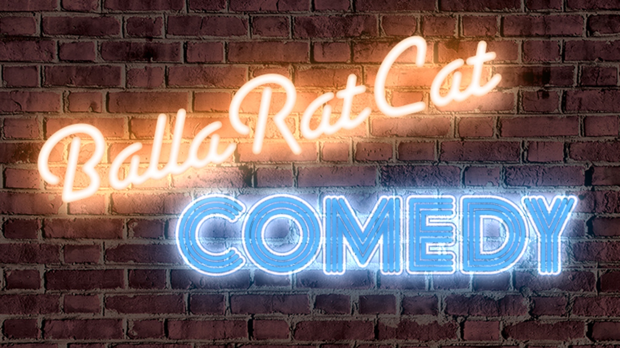BallaRatCat Comedy Logo
