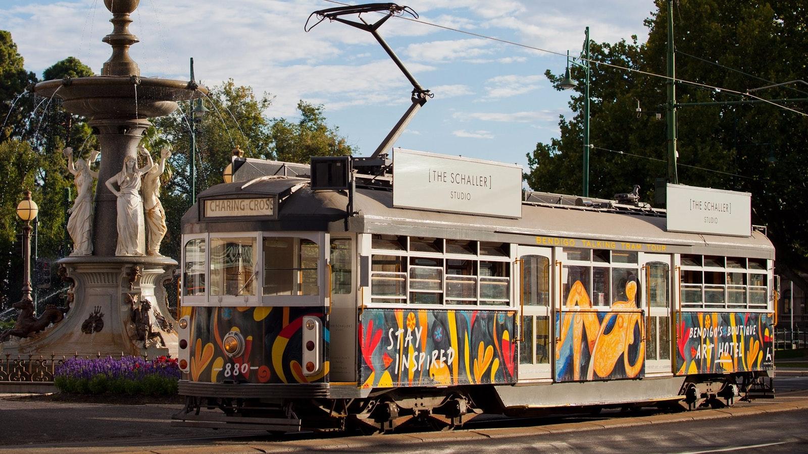 Bendigo Tramways - Tram No. 880