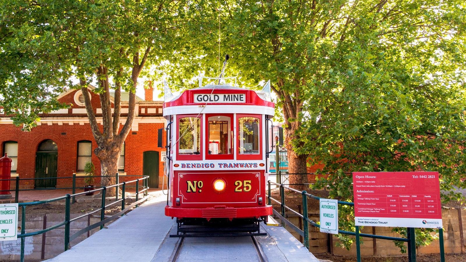 Bendigo Tramways - Tram No. 25