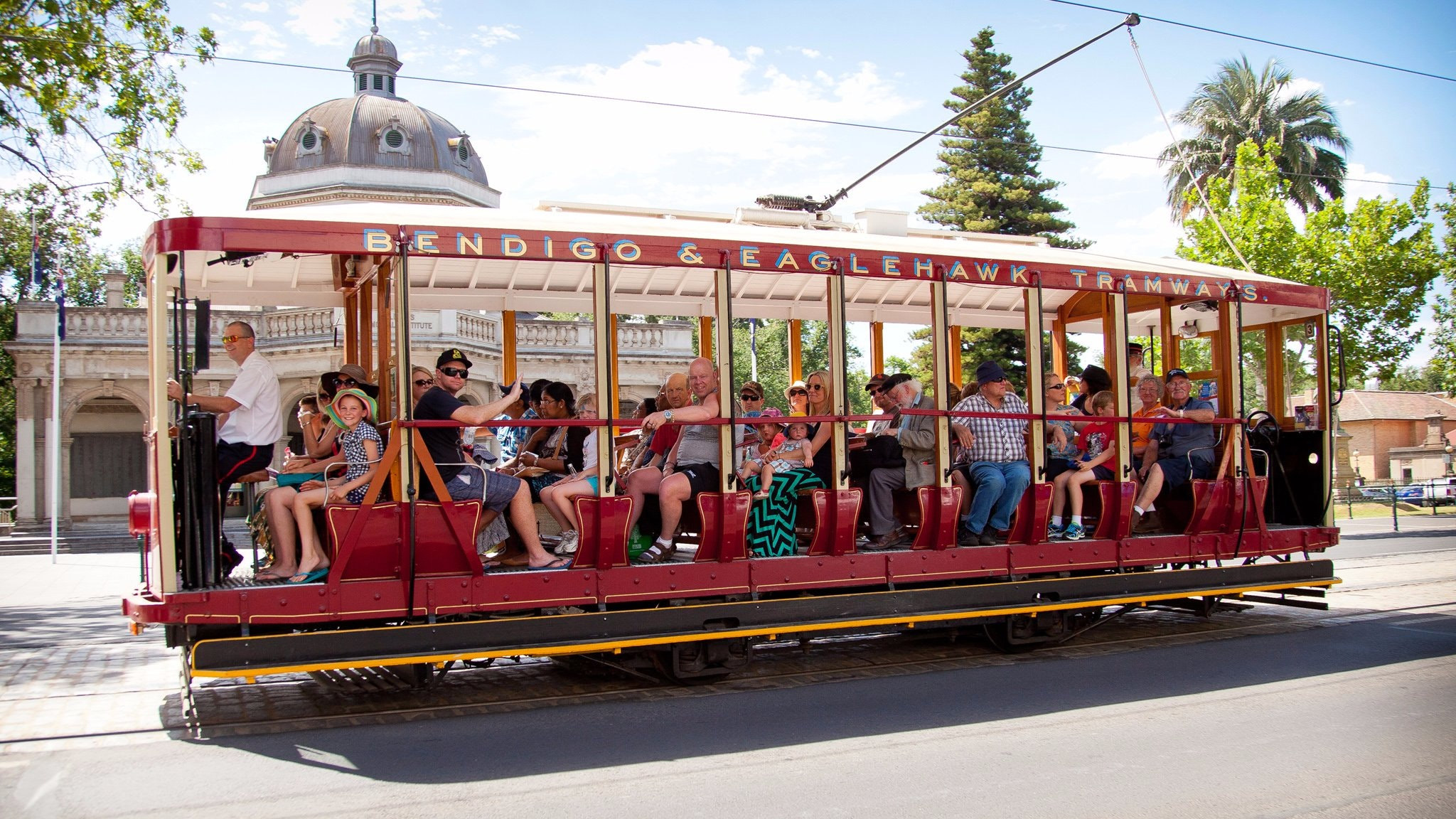 Bendigo Tramways - Tram No. 17