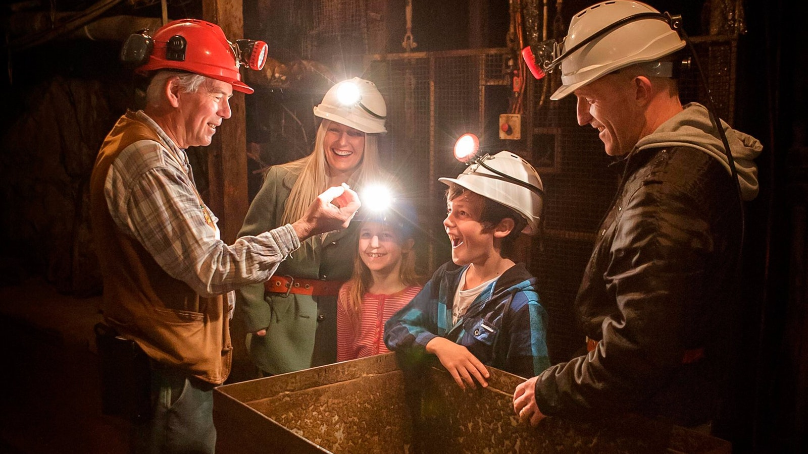 Central Deborah Gold Mine - Mine Experience Tour
