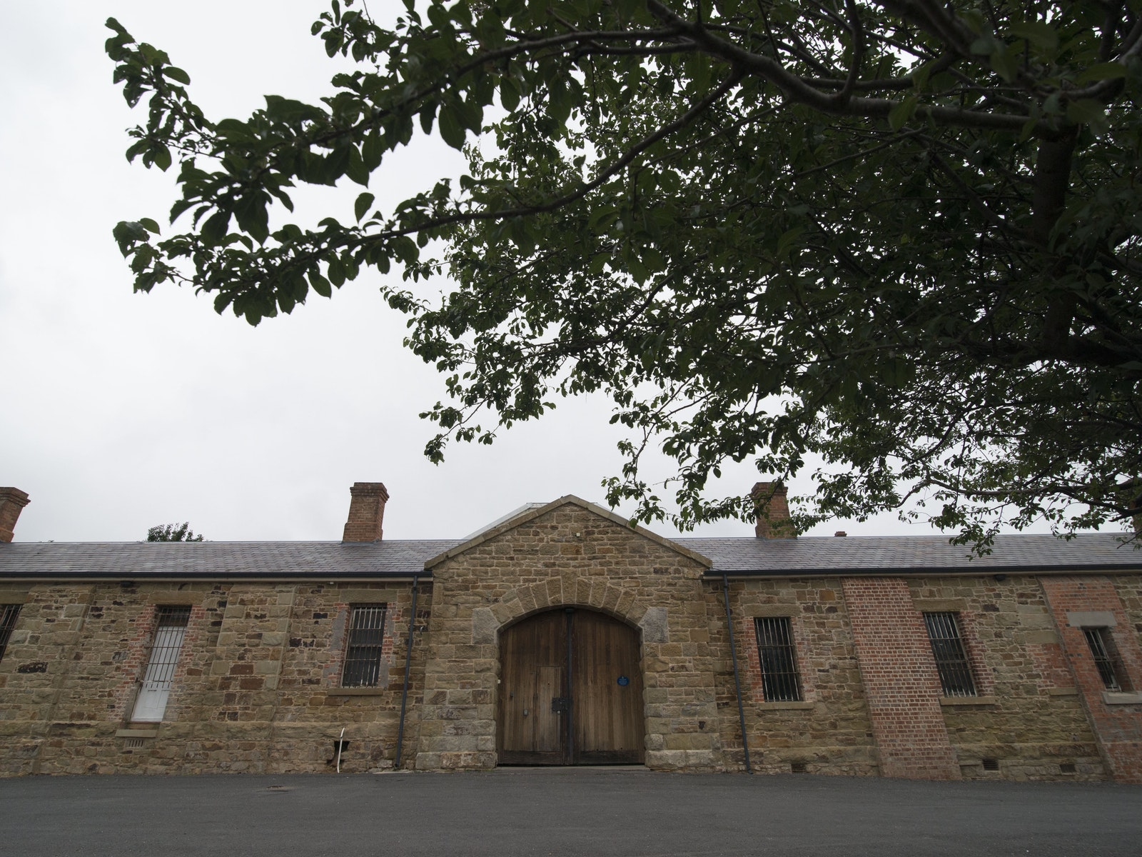 Front of the Old Castlemaine Gaol