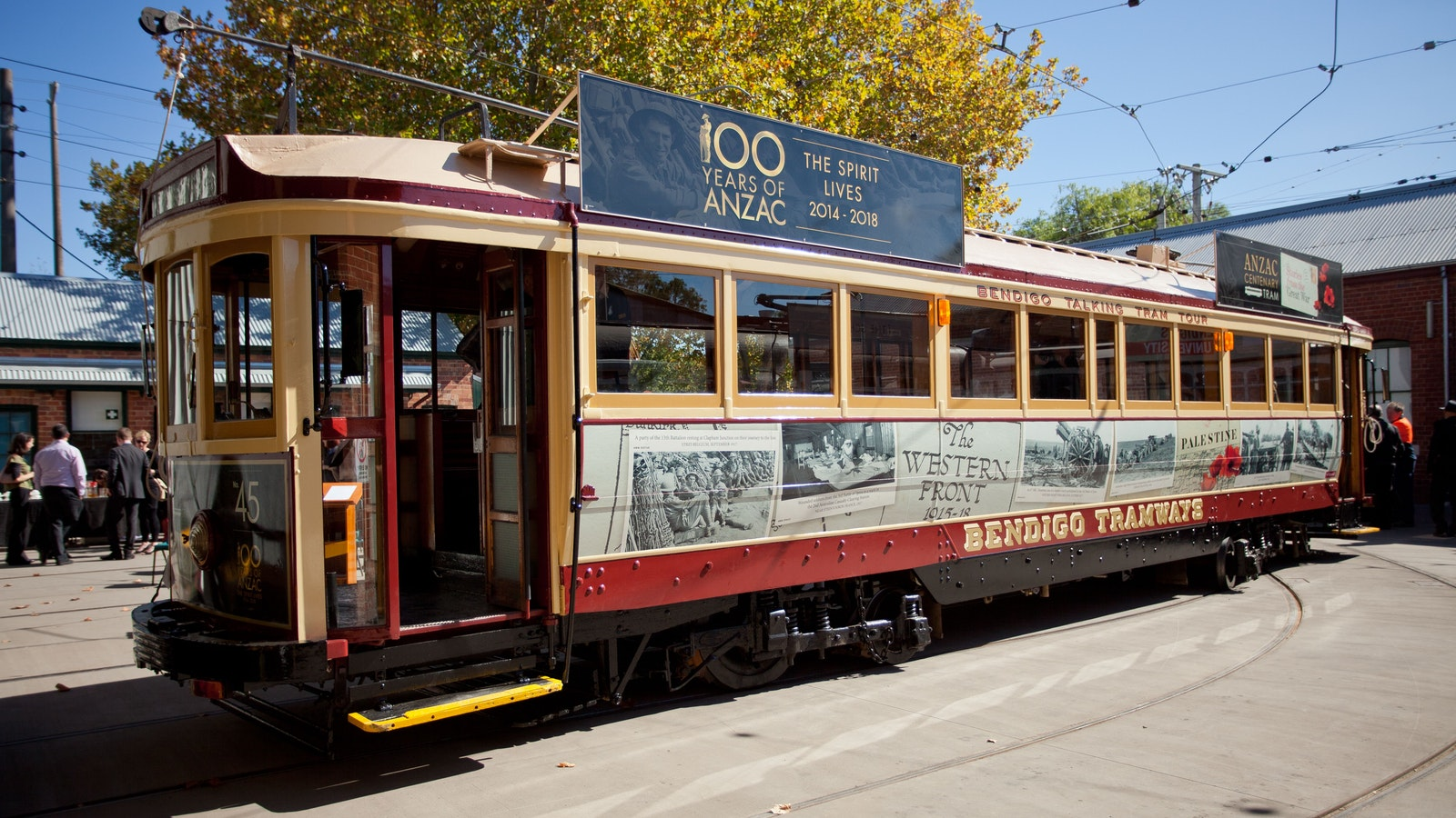 Anzac Centenary Tram