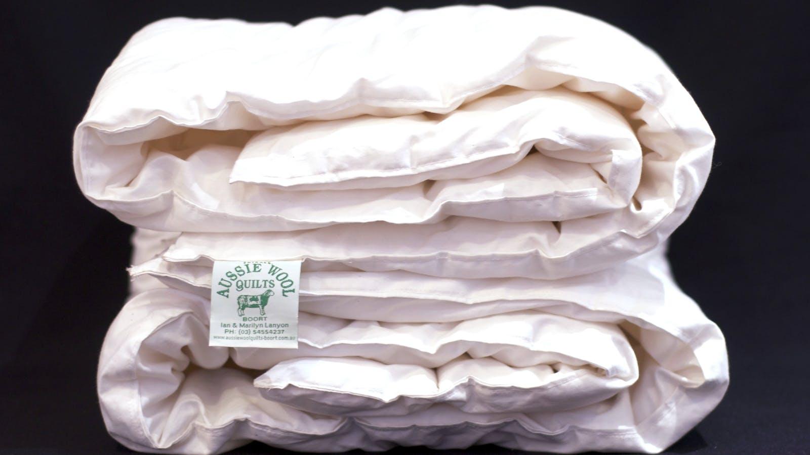 Folded quilt